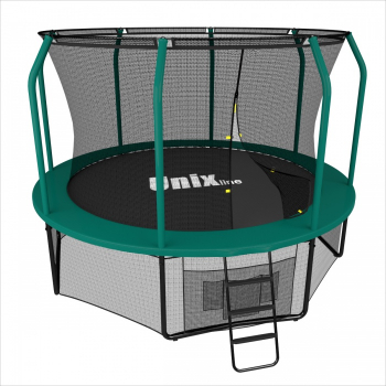Батут UNIX line 8 ft SUPREME GAME (green)